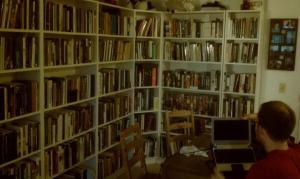 With all of the degrees that this couple share, you might expect that they have quite the library now.