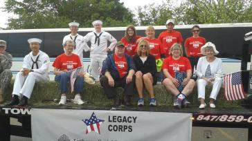 One of the volunteer groups I am active with is the Legacy Corps: Support for veterans and their caregivers.